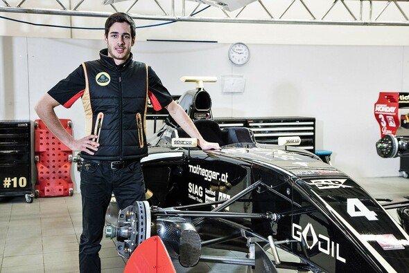 Rene Binder startet 2016 inj der neuen Formel V8 3.5 - Foto: www.matusinsky.cz
