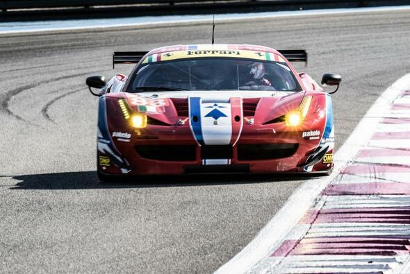 Ferrari fuhr auch im Silverstone-Qualifying vorne weg - Foto: Adrenal Media