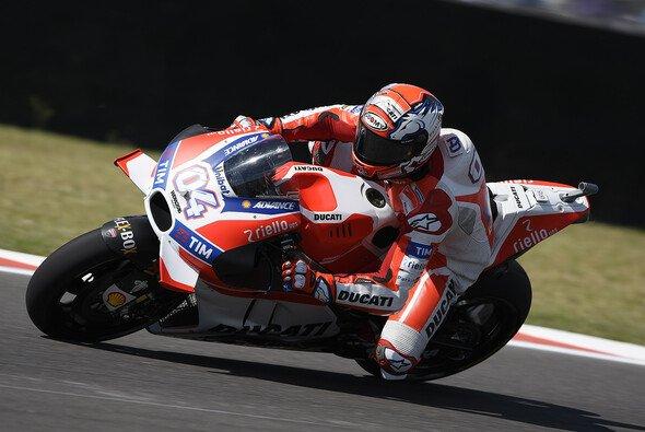 Andrea Dovizioso war im Qualifying schnellerer der beiden Ducati-Werkspiloten - Foto: Ducati