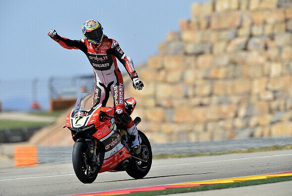 Unschlagbar in Aragon: Chaz Davies auf der Ducati - Foto: Ducati