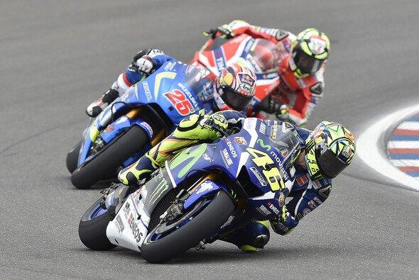 Valentino Rossi schaffte es in die erste Startreihe - Foto: Yamaha