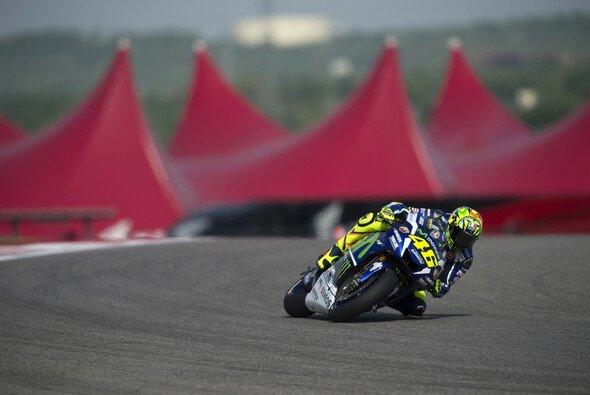 Valentino Rossi verpatzte seine aussichtsreichste Runde - Foto: Yamaha