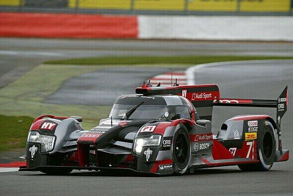 Die #7 startet bei den 6h von Silverstone von Platz eins - Foto: Audi