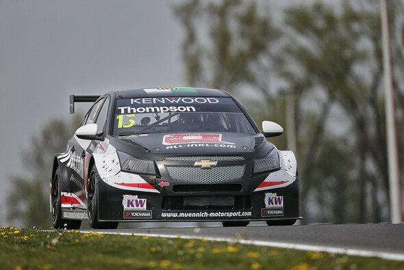 In Marokko wird Thompson wieder am Steuer des schwarzen Chevrolet Cruze sitzen - Foto: WTCC