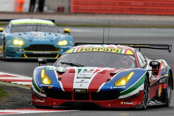 Ferrari lag beim WEC-Auftakt in Silverstone am Ende vor Aston Martin - Foto: Ferrari