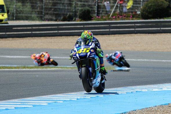Rossi war deutlich schneller als Lorenzo - Foto: Tobias Linke