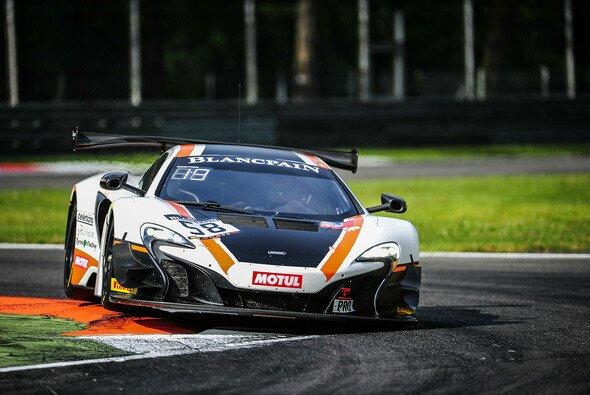 Der siegreiche McLaren 650S im Autodromo Nazionale di Monza - Foto: Vision Sport Agency
