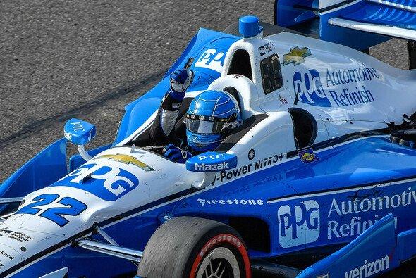Simon Pagenaud holte im Barber Motorsports Park seinen zweiten IndyCar-Sieg in Folge - Foto: General Motors