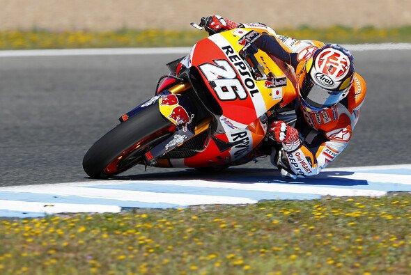 Für Dani Pedrosa geht es in Le Mans endlich in die richtige Richtung - Foto: Repsol