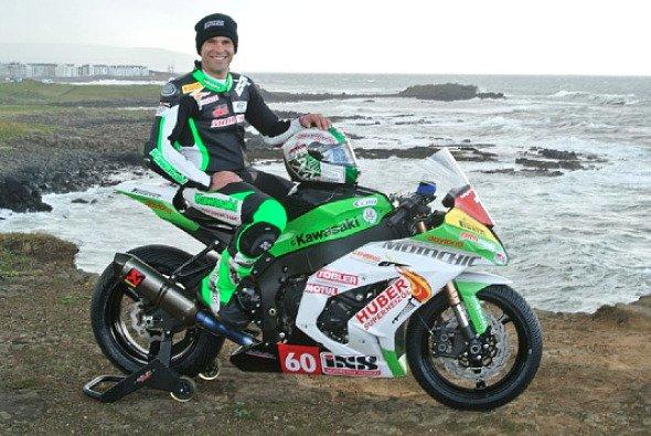 Horst Saiger tritt als bester deutschsprachiger Road Racer auf der Isle of Man an - Foto: Metzeler