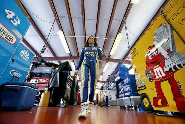 Danica Patrick achtet sehr auf ihre Gesundheit und Fitness - Foto: NASCAR
