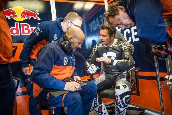 Randy De Puniet war bereits 2016 im Entwicklungsteam von KTM - Foto: KTM
