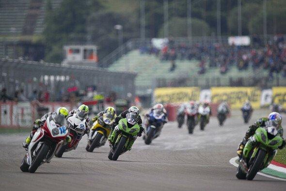 Randy Krummenacher stiftete viel Verwirrung beim Supersport-Rennen in Imola - Foto: Kawasaki