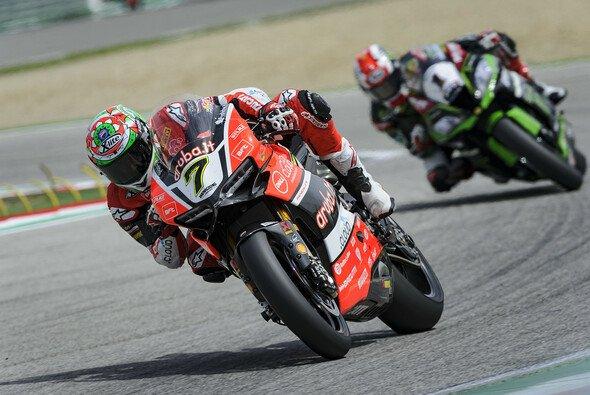 Chaz Davies fuhr zuletzt in Imola der WSBK-Konkurrenz auf und davon - Foto: Ducati