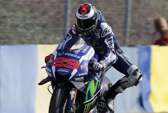 Die Trainings dominierte Jorge Lorenzo - Foto: Yamaha
