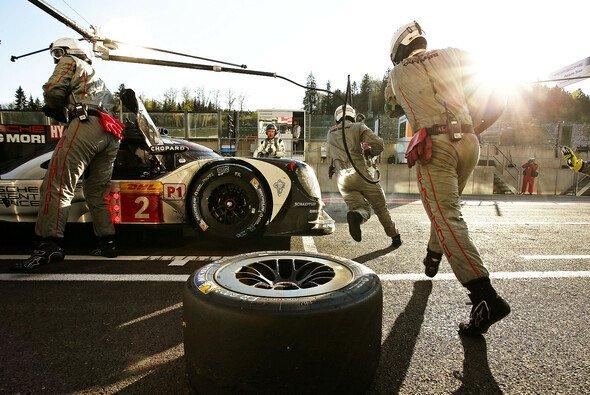 Die 24h von Le Mans werden auch an der Box entschieden - Foto: Porsche