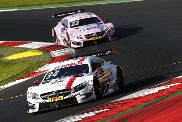 Mercedes war in Spielberg nicht konkurrenzfähig - Foto: DTM