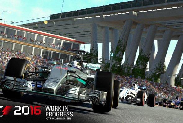 Uns liegen die ersten Bilder - noch 'work in progress' - aus dem neuen Rennspiel vor. - Foto: Codemasters
