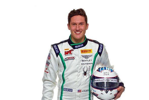Andrew Palmer liegt nach seinem schweren Unfall im Krankenhaus - Foto: Bentley Motorsport