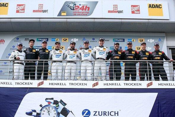 Mercedes feierte beim 24h-Rennen am Nürburgring einen triumphalen Vierfach-Erfolg - Foto: 24h Nürburgring