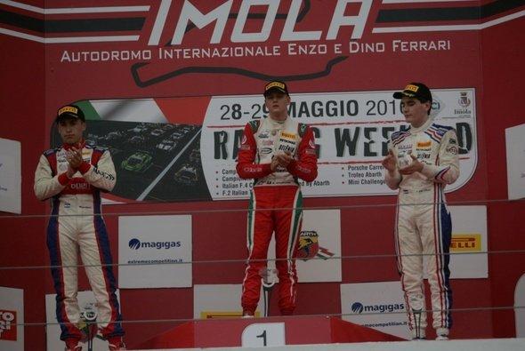 Mick Schumacher gewann das zweite Rennen in Imola - Foto: F4 Italia