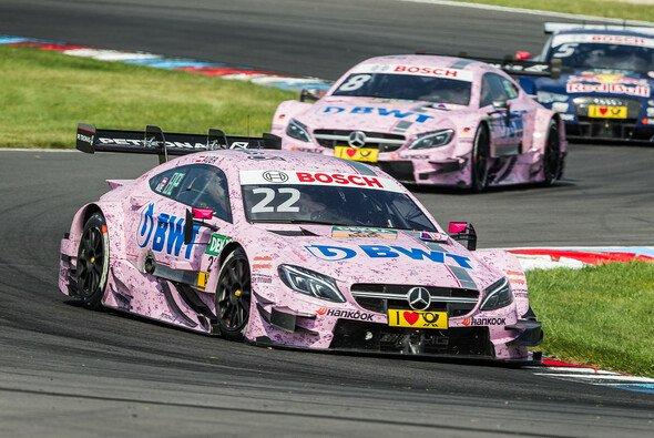 Lucas Auer hat das Sonntagsrennen der DTM am Lausitzring gewonnen - Foto: Simninja Photodesignagentur