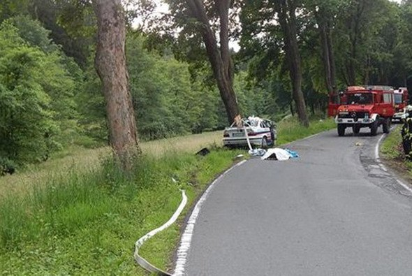 Das Fahrzeug kam auf der Kreisstraße 9 von der Fahrbahn ab - Foto: Polizeipräsidium Koblenz