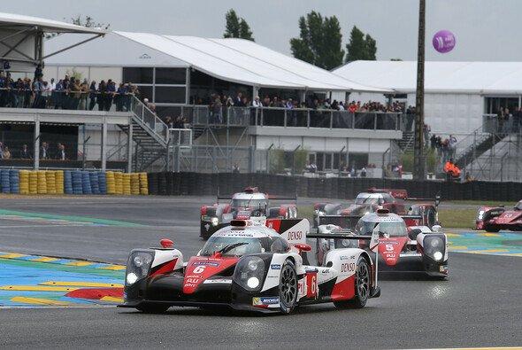 Toyota war auch für Audi und Porsche der Le-Mans-Sieger der Herzen - Foto: Toyota