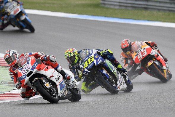 Andrea Dovizioso ließ die Superstars Rossi und Marquez beim Malaysia-GP hinter sich - Foto: Ducati