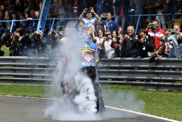 Jack Miller feierte ausgelassen seinen ersten MotoGP-Erfolg - Foto: Milagro