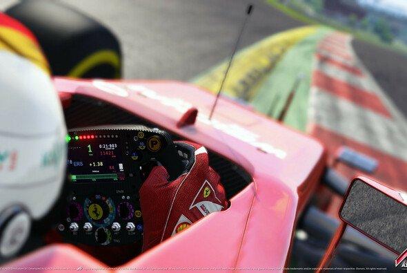 Dreimal stand der viermalige Weltmeister Sebastian Vettel mit dem Ferrari SF15-T ganz oben auf dem Podest - Foto: Assetto Corsa