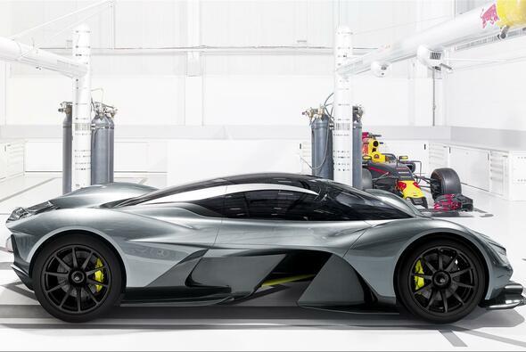 6,5 Liter, V12-Motor: Traum-Daten für Adrian Newey Hypercar - Foto: Aston Martin