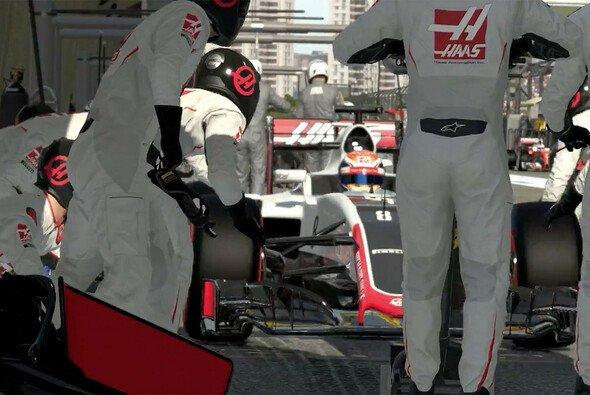 Die Boxenstopps in F1 2016 werden zur neuen Herausforderung - Foto: Codemasters