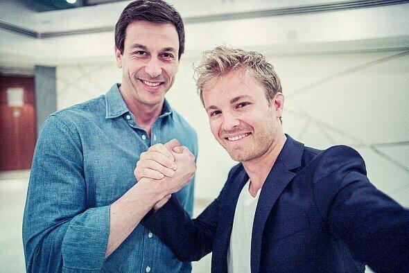 Die Vertrags-Verhandlungen mit Rosberg zogen sich - die seines Nachfolgers auch - Foto: Mercedes-AMG