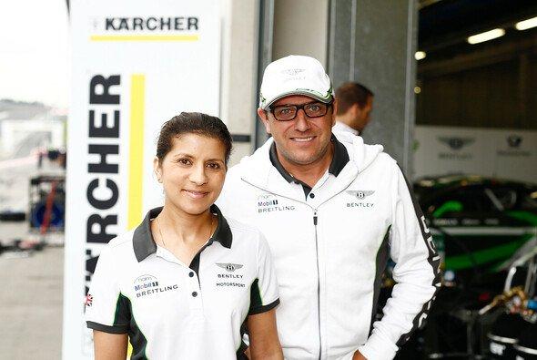 Leena Gade unterstützt das Bentley Team ABT - Foto: ADAC GT Masters