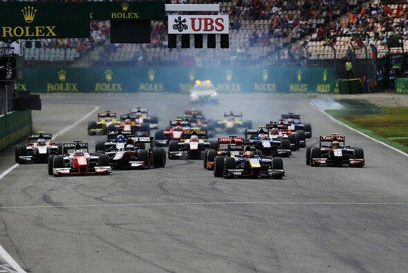 Alex Lynn gewinnt GP2-Sprintrennen von Startplatz zwei aus - Foto: GP2 Series
