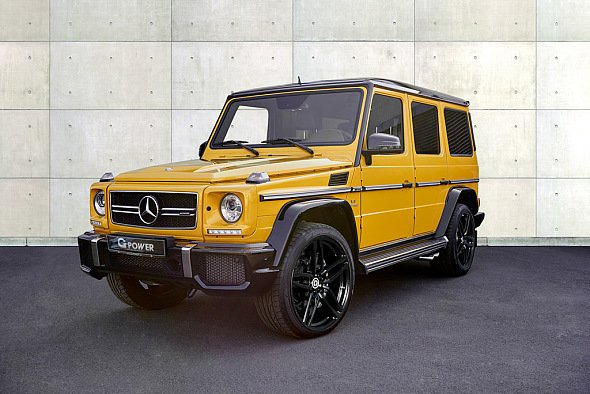 G-Power verhilft dem Mercedes-AMG G63 zu 900 Nm Drehmoment - Foto: G-Power