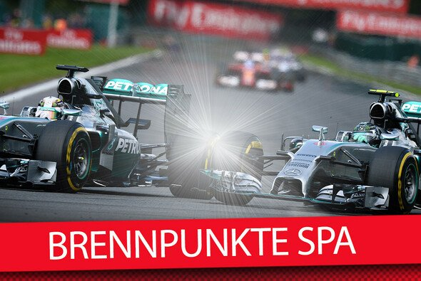 Rosberg gegen Hamilton: Es wird heiß in Spa! - Foto: Motorsport-Magazin.com