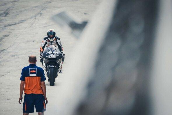 Mika Kallio hat in Aragon bereits einige Testkilometer für KTM abgespult - Foto: KTM
