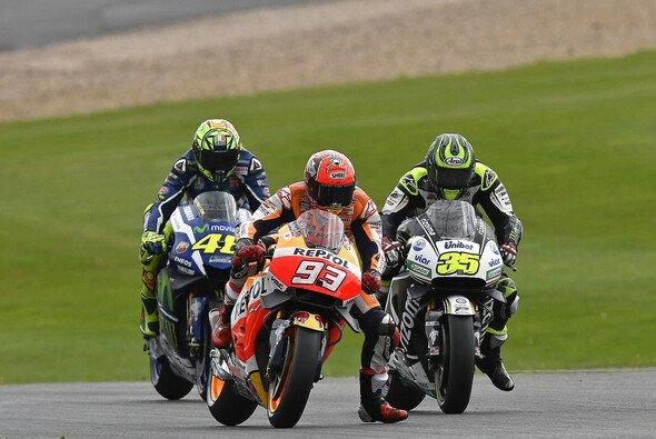 Rossi und Yamaha mussten sich in letzter Zeit immer hinten anstellen, wenn Siege vergeben werden - Foto: HRC