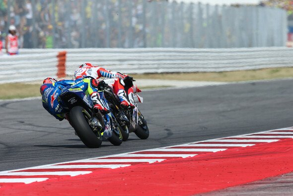 Maverick Vinales und Andrea Dovizioso sind brandgefährlich - Foto: Suzuki