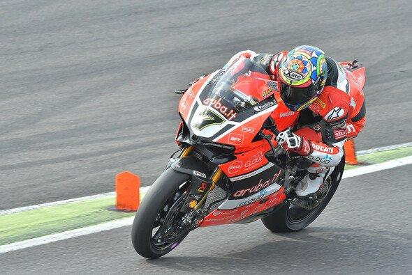 Chaz Davies sicherte sich die Pole-Position auf dem Lausitzring - Foto: Ducati
