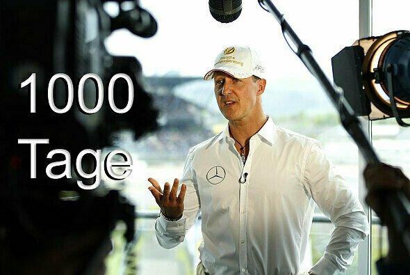 1000 Tage sind seit dem tragischen Ski-Unfall von Michael Schumacher vergangen - Foto: Mercedes