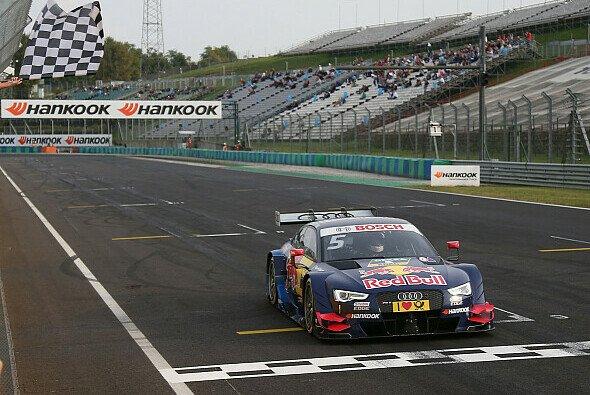 Ekström siegte am Sonntag auf dem Hungaroring verdient - Foto: Audi