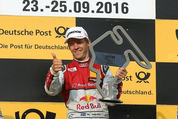 Mattias Ekström holte sich in Ungarn seinen 22. DTM-Sieg - Foto: Audi