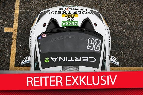 Der Reiter-Lambo um Albert von Thurn und Taxis 2015 am Sachsenring - Foto: ADAC GT Masters/Motorsport-Magazin.com