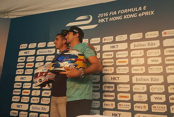 Buemi und Piquet Jr in Hong Kong - Foto: Motorsport-Magazin.com