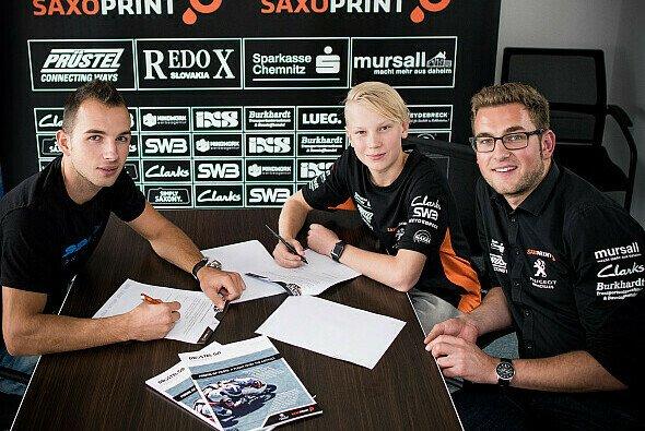 Das Team von Peugeot MC Saxoprint setzt 2017 auf zwei neue Piloten - Foto: Peugeot MC Saxoprint