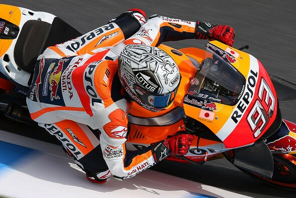 Marc Marquez verpasste die Pole Position in Motegi knapp