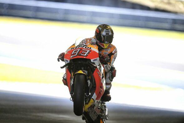 Marc Marquez ist Weltmeister - Foto: Repsol Honda